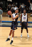 Dominque Ferguson handles the ball during the 2009 NBPA Top 100 Basketball Camp held Friday June 17- 20, 2009 in Charlottesville, VA. Photo/ Andrew Shurtleff.