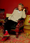 Jan 09, 1980: THE POLICE - Andy Summers - Photosession at Home in Putney London