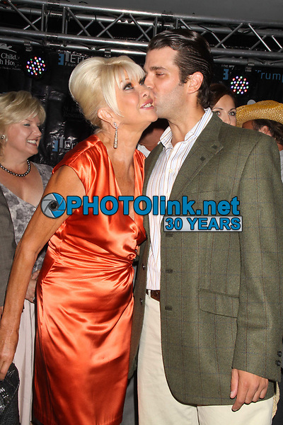 Ivana Trump Donald Trump Jr.<br /> 2011<br /> Photo By John Barrett/PHOTOlink