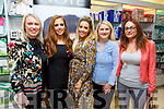 Lisa Jordan of Just Jordan Brand giving Beauty Masterclass in CH Chemists on Saturday.<br /> L-r, Karen O&rsquo;Sullivan (Ballyheigue), Aoife O&rsquo;Carroll, Lisa Jordan, Hazel and Norma (Curraheen).