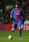 André Gomes of Barcelona during the Champions League match at Celtic Park, Glasgow. Picture Date: 23rd November 2016. Pic taken by Lynne Cameron/Sportimage