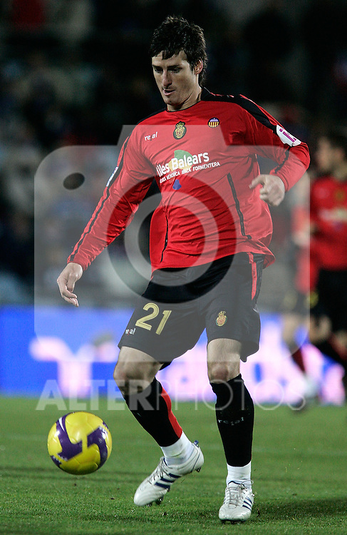 Mallorca's Aritz Aduriz during La Liga match, December 14, 2008. (ALTERPHOTOS).
