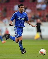 Fussball Europa League Play Offs:  Saison   2012/2013     VfB Stuttgart - Dynamo Moskau  22.08.2012 Leandro Fernandez (Dynamo Moskau)
