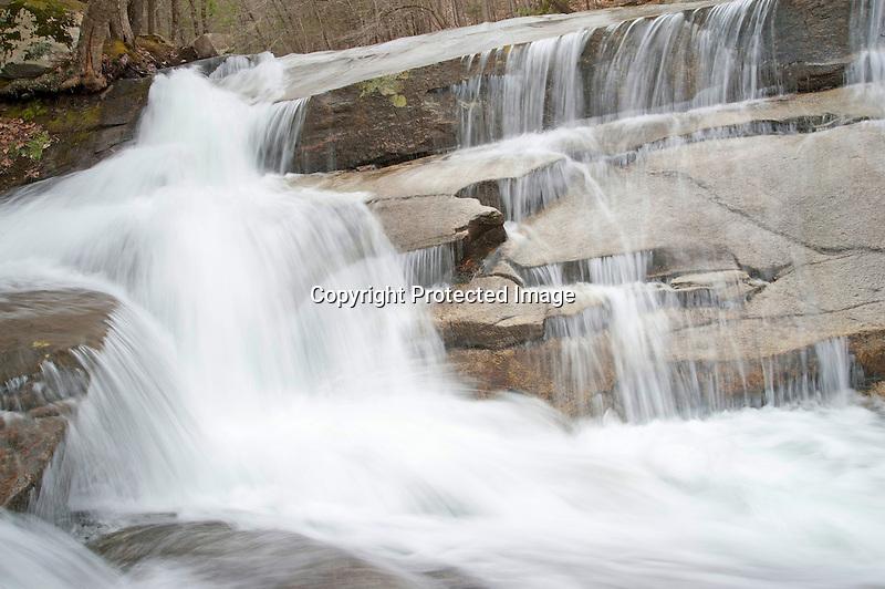 Waterfall Cascade at Jelly Mill Falls