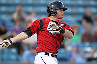 Nashville Sounds first baseman Mat Gamel #6 during a game against the Omaha Storm Chasers at Greer Stadium on April 25, 2011 in Nashville, Tennessee.  Omaha defeated Nashville 2-1.  Photo By Mike Janes/Four Seam Images