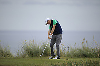 Max Kennedy of Ireland during Day 2 / Foursomes of the Boys' Home Internationals played at Royal Dornoch Golf Club, Dornoch, Sutherland, Scotland. 08/08/2018<br /> Picture: Golffile | Phil Inglis<br /> <br /> All photo usage must carry mandatory copyright credit (&copy; Golffile | Phil Inglis)