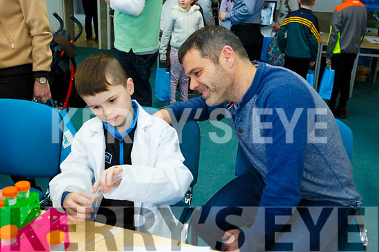 At the IT Tralee Kerry Science Festival on Saturday were  Dermot Moyniham and Eoin Moyniham