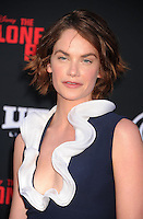 WWW.BLUESTAR-IMAGES.COM  Actress Ruth Wilson arrives at 'The Lone Ranger' World Premiere at Disney's California Adventure on June 22, 2013 in Anaheim, California.<br /> Photo: BlueStar Images/OIC jbm1005  +44 (0)208 445 8588