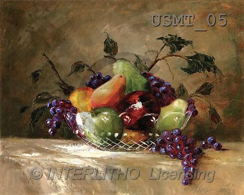 Malenda, STILL LIFES, paintings, america's bounty(USMT05,#I#) Stilleben, naturaleza muerta, illustrations, pinturas