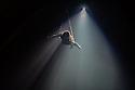 Edinburgh, UK. 12.08.2014.  NoFitState Circus perform their show BIANCO, in their Grand Chapiteau in Fountainbridge, to a rapt audience, at the Edinburgh Festival Fringe. © Jane Hobson.