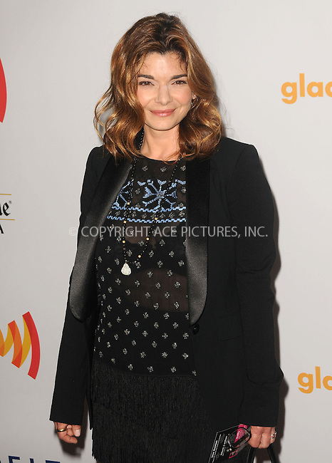 WWW.ACEPIXS.COM . . . . .  ....April 21 2012, LA....Laura San Giacomo arriving at the 23rd Annual GLAAD Media Awards at the Westin Bonaventure Hotel on April 21, 2012 in Los Angeles, California....Please byline: PETER WEST - ACE PICTURES.... *** ***..Ace Pictures, Inc:  ..Philip Vaughan (212) 243-8787 or (646) 769 0430..e-mail: info@acepixs.com..web: http://www.acepixs.com