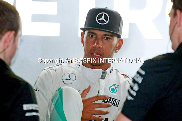 22.05.2015, Monte Carlo, Monaco: LEWIS HAMILTON<br />during the practice session for the Monaco Grand Prix 2015.<br />MANDATORY PHOTO CREDIT: &copy;NEWSPIX INTERNATIONAL<br /><br />(Failure to credit will incur a surcharge of 100% of reproduction fees)<br /><br />**ALL FEES PAYABLE TO: &quot;NEWSPIX  INTERNATIONAL&quot;**<br /><br />Newspix International, 31 Chinnery Hill, Bishop's Stortford, ENGLAND CM23 3PS<br />Tel:+441279 324672<br />Fax: +441279656877<br />Mobile:  07775681153<br />e-mail: info@newspixinternational.co.uk