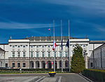 Pałac Prezydencki przy Krakowskim Przedmieściu w Warszawie, Polska<br /> Presidential Palace, Warsaw, Poland