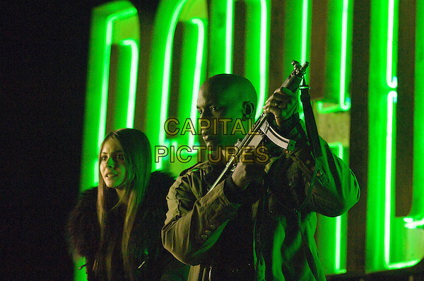WILLA HOLLAND & TYRESE GIBSON.in Legion.*Filmstill - Editorial Use Only*.CAP/FB.Supplied by Capital Pictures.