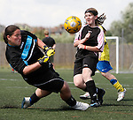 Pix: Shaun Flannery/sf-pictures.com..COPYRIGHT PICTURE>>SHAUN FLANNERY>01302-570814>>07778315553>>..4th July 2009..............Coalfields Regeneration Trust (CRT) Game On football final's, Keepmoat Stadium, Doncaster..