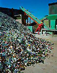 Recycled glass is now used in a myriad of ways, including use in the building trade, in the construction of roads, in the manufacture of concrete, as a replacement for sand, as an abrasive in shot blasting, for water filtration and as a flux in the production of clay and bricks.  <br /> <br /> Recycled glass also has a widening appeal in the interiors and art market with new products and applications being developed.