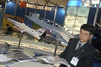 - stand aeronautical industry of South Korea....- stand industria aeronautica della Corea del Sud