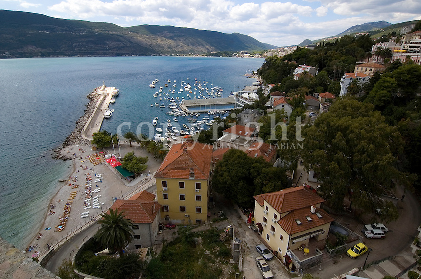 Port of Herceg Novi, Montenegro, Europe