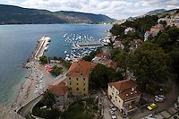 Port of Herceg Novi, Montenegro, Europe