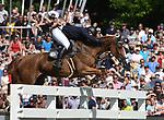 02.06.2019,  GER;  Deutsches Spring- und Dressur-Derby, 90. Deutsches Spring-Derby, im Bild Benjamin Wulschner  (GER) auf Golvers Hill  Foto © nordphoto / Witke