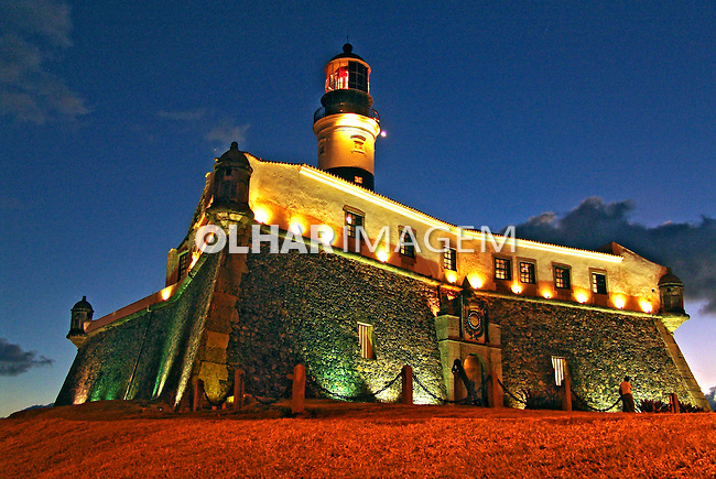 Farol da Barra e Museu Marítimo em Salvador. Bahia. 2009. Foto de Caio Vilela.