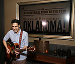 """Damon Daunno attends the Rodgers & Hammerstein's """"Oklahoma!"""" Cocktail Party at Bob's Steak & Chop House on February 19, 2019 in New York City."""
