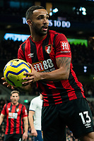 Bournemouth's Callum Wilson during the match against Tottenham Hotspur<br /> <br /> Photographer Stephanie Meek/CameraSport<br /> <br /> The Premier League - Tottenham Hotspur v Bournemouth - Saturday 30th November 2019 - Tottenham Hotspur Stadium - London<br /> <br /> World Copyright © 2019 CameraSport. All rights reserved. 43 Linden Ave. Countesthorpe. Leicester. England. LE8 5PG - Tel: +44 (0) 116 277 4147 - admin@camerasport.com - www.camerasport.com