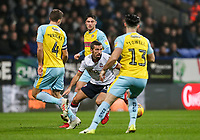 Bolton Wanderers' Gary O'Neil weaves his way through the Rotherham United defence<br /> <br /> Photographer Andrew Kearns/CameraSport<br /> <br /> The EFL Sky Bet Championship - Bolton Wanderers v Rotherham United - Wednesday 26th December 2018 - University of Bolton Stadium - Bolton<br /> <br /> World Copyright © 2018 CameraSport. All rights reserved. 43 Linden Ave. Countesthorpe. Leicester. England. LE8 5PG - Tel: +44 (0) 116 277 4147 - admin@camerasport.com - www.camerasport.com
