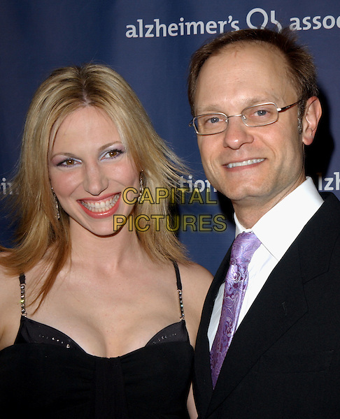 """DEBORAH GIBSON & DAVID HYDE PIERCE.The Alzheimer's Association's 12th Annual """"A Night at Sardi's"""" Celebrity Fundraiser held at The Beverly Hilton Hotel in Beverly Hills, California .04 March 2004.*UK Sales Only*.Debbie.www.capitalpictures.com.sales@capitalpictures.com.©Capital Pictures."""