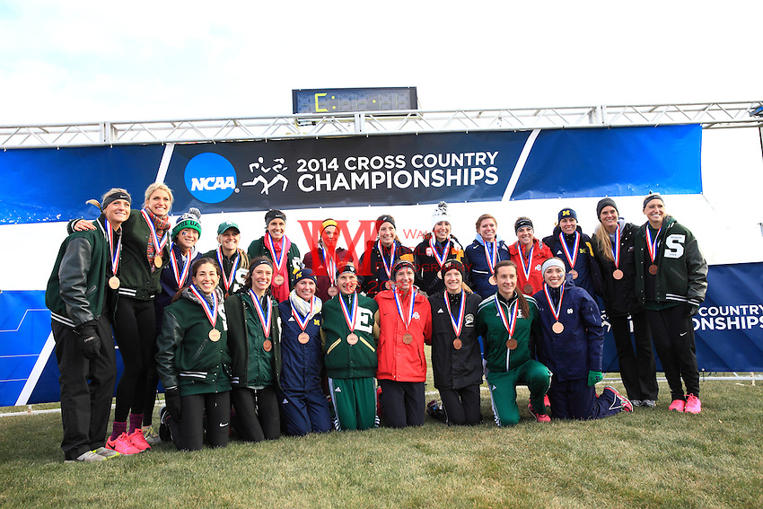 The Notre Dame women's cross country team competed at the 2014 NCAA Cross Country Great Lakes Regional hosted by Wisconsin at the Zimmerman Cross Country Course. November 14, 2014