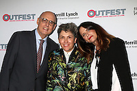 LOS ANGELES, CA - OCTOBER 23: Jeffrey Tambor, Jill Soloway and Amy Landecker at the 2016 Outfest Legacy Awards at Vibiana in Los Angeles, California on October 23, 2016. Credit: David Edwards/MediaPunch