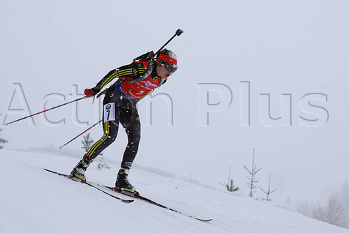8th December 2017, Biathlon Centre, Hochfilzen, Austria; IBU Womens Biathlon World Cup; Anastasia Niciporenko
