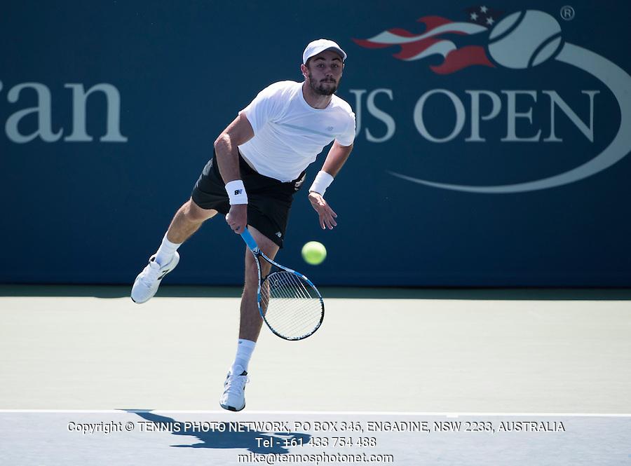 RICHARD GASQUET (FRA)<br /> <br /> TENNIS - THE US OPEN - FLUSHING MEADOWS - NEW YORK - ATP - WTA - ITF - GRAND SLAM - OPEN - NEW YORK - USA - 2016  <br /> <br /> <br /> <br /> &copy; TENNIS PHOTO NETWORK