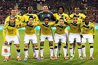 Formazione Colombia   <br /> Bruxelles 14-11-2013 <br /> Football Calcio 2013/2014 Friendly Match. Belgio - Colombia <br /> Foto PHOTO NEWS / PANORAMIC / Insidefoto