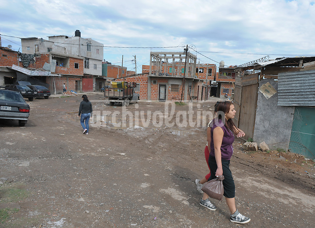The slum Bajo flores in Buenos Aires, probably the more dangerous place of the entire city