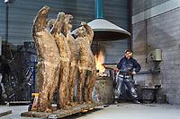 WAARDENBURG- Bronsgieterij / Art Gallery Hans Steylaert