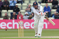 Simon Harmer in batting action for Essex during Worcestershire CCC vs Essex CCC, Specsavers County Championship Division 1 Cricket at Blackfinch New Road on 11th May 2018