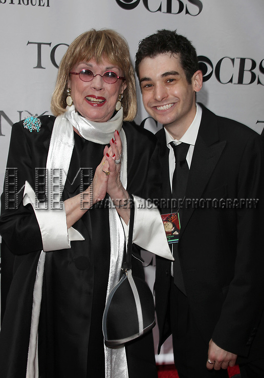 Phyllis Newman & Noah Himmelstein arriving at the 63rd Annual Antoinette Perry Tony Awards at Radio City Music Hall in New York City on June 7, 2009.