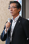 Eisuke Hiraoka, SEPTEMBER 1, 2016 : Japanese Olympic Committee's independent panel commission releases the research report of suspicious payment made to Black Tidings a Singapore-based firm, in Tokyo, Japan. The report said there had found nothing illegal in a payment made to Black Tidings, prior to Tokyo winning the host of the 2020 Summer Games. (Photo by Sho Tamura/AFLO SPORT)