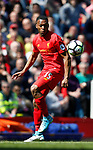 Daniel Sturridge of Liverpool in action during the English Premier League match at Anfield Stadium, Liverpool. Picture date: May 7th 2017. Pic credit should read: Simon Bellis/Sportimage