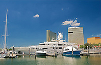 "WSB- Golden Nugget Marina and the Yacht ""Boardwalk"", Atlantic City NJ 6 14"