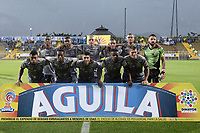 BOGOTÁ -COLOMBIA, 14-05-2017: Jugadores de Tigres FC posan para una foto previo al encuentro con Millonarios por la fecha 18 de la Liga Águila I 2017 jugado en el estadio Metropolitano de Techo de la ciudad de Bogotá. / Players of Tigres FC pose to a photo prior the match against Millonarios for the date 18 of the Aguila League I 2017 played at Metropolitano de Techo stadium in Bogotá city. Photo: VizzorImage/ Gabriel Aponte / Staff