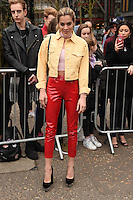 Chelsea Leyland arrives for the Topshop Unique AW17 show as part of London Fashion Week AW17 at Tate Modern, London, UK. <br /> 19 February  2017<br /> Picture: Steve Vas/Featureflash/SilverHub 0208 004 5359 sales@silverhubmedia.com