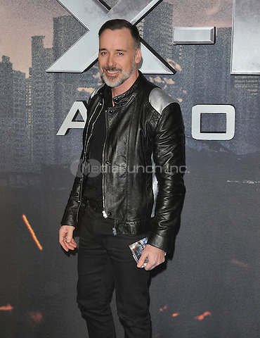 David Furnish at the &quot;X-Men : Apocalypse&quot; global fan screening, BFI Imax, Charlie Chaplin Walk, London, England, UK, on Monday 09 May 2016.<br /> CAP/CAN<br /> &copy;CAN/Capital Pictures /MediaPunch ***NORTH AMERICA AND SOUTH AMERICA ONLY***