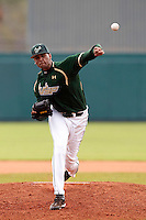 USF Bulls pitcher Andrew Barbosa #51 delivers a pitch during a game against the Minnesota Gophers at the Big Ten/Big East Challenge at Al Lang Stadium on February 19, 2012 in St. Petersburg, Florida.  (Mike Janes/Four Seam Images)
