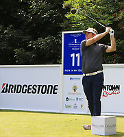 Mark Flindt Haastrup (DEN) on the 11th tee during Round 1 of the Northern Ireland Open at Galgorm Castle Golf Club, Ballymena Co. Antrim. 10/08/2017<br /> Picture: Golffile | Thos Caffrey<br /> <br /> <br /> All photo usage must carry mandatory copyright credit     (&copy; Golffile | Thos Caffrey)