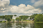 Goodspeed Opera House, East Haddam, CT. Connecticut River.