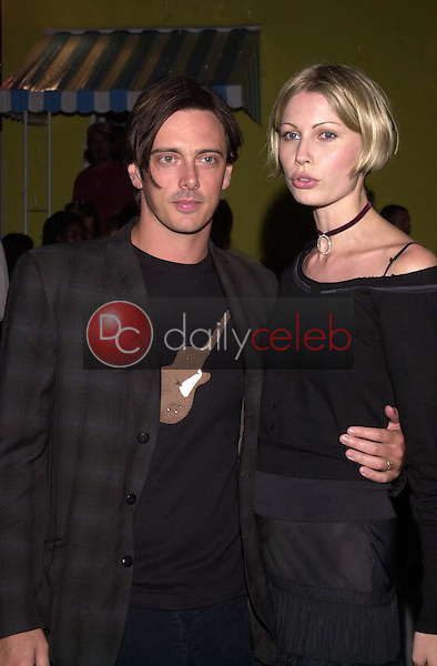 Donovan Leitch and Kirsty Hume