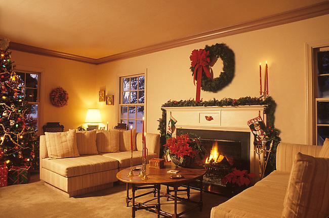 Christmas Decorations, Home Interior, Boulder, Colorado