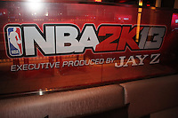 NEW YORK, NY - SEPTEMBER 26:..Atmosphere at the NBA 2K13 Premeire at 40/40....© Walik Goshorn / Retna Ltd. /MediaPunch Inc. /NortePhoto